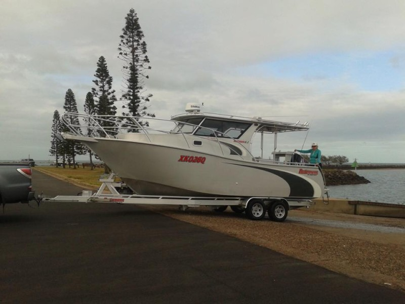 Performance Plate Boats- 8100 full hard top with shower and toilet 7