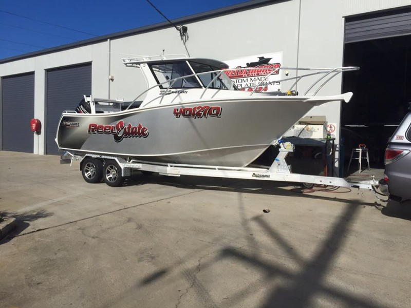 Performance Plate Boats- Reel Estate 2